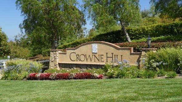 Crowne Hill Temecula Ca 92592