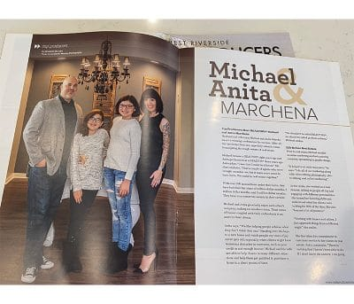 Realtors Michael Anita Marchen featured in Real Producers Magazine