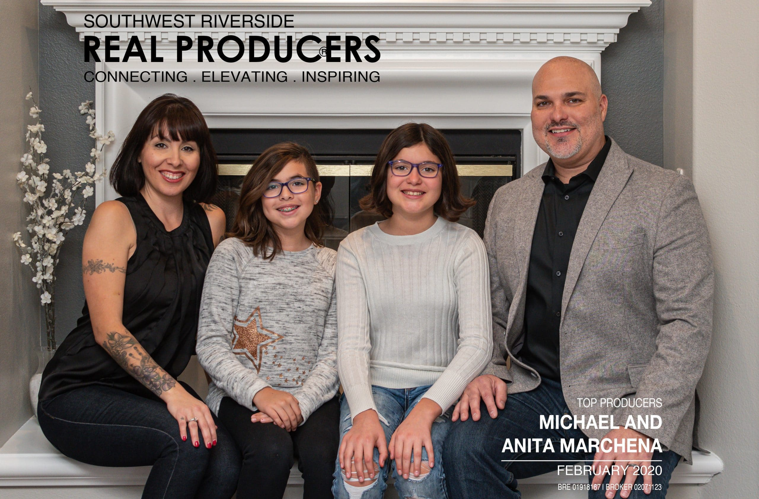 Real Producers Magazine Features Marchena Home Team