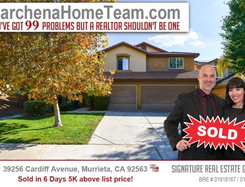 SOLD 39256 Cardiff Avenue, Murrieta, CA 92563