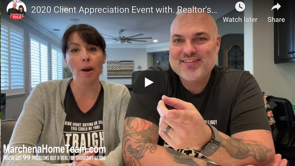 Client Appreciation Event Thank you