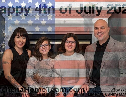Happy 4th of July 2020 from the Marchena Family