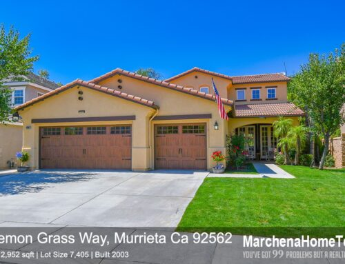 Sold | 26907 Lemon Grass Way, Murrieta Ca 92562