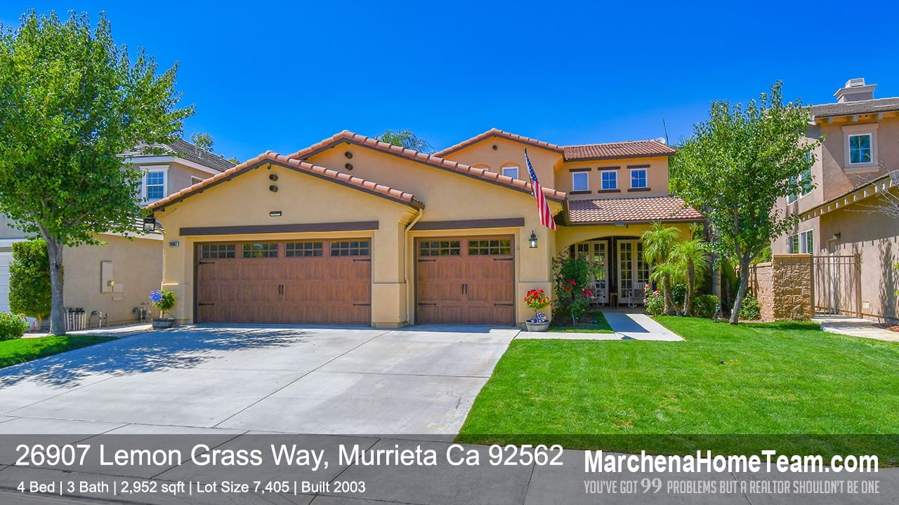 26907 Lemon Grass Way, Murrieta Ca 92562