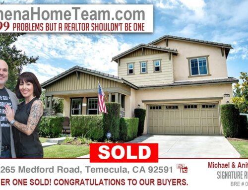 SOLD | Congratulations to our buyers in Temecula Ca 92591