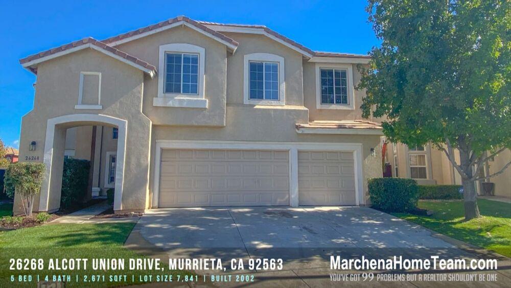 26268 Alcott Union Drive, Murrieta, CA 92563