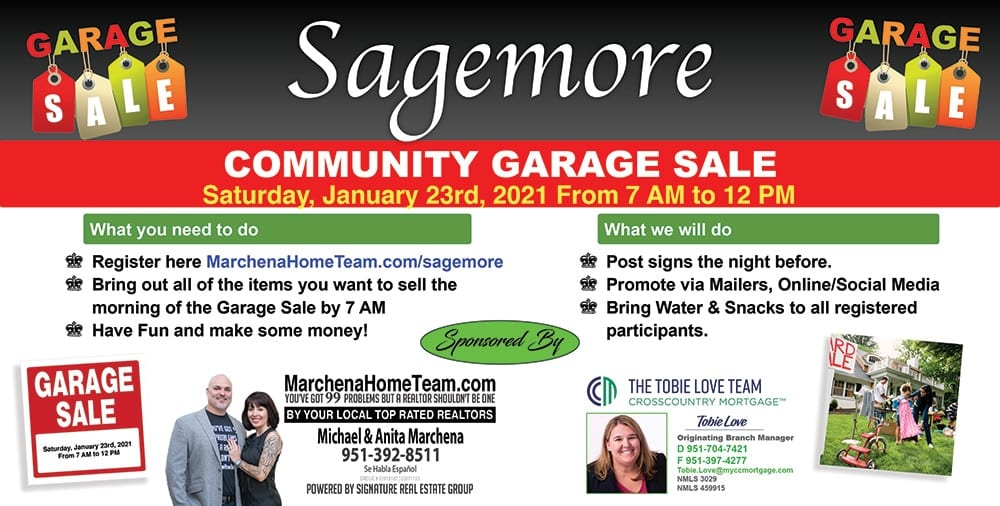 Sagemore Community Garage Sale