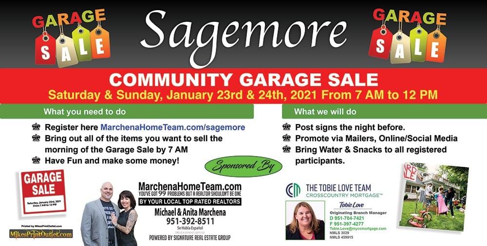 Sagemore Community Garage Sale