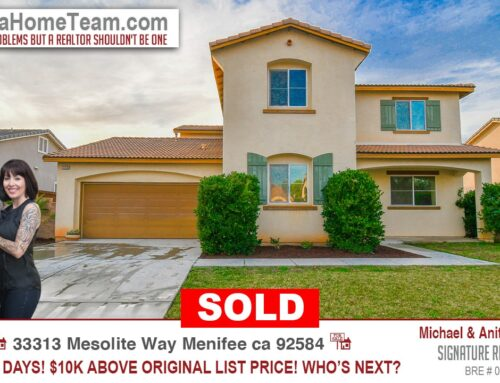 Sold | 33313 Mesolite Way, Menifee 92584