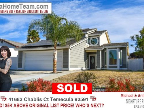 Sold | 41682 Chablis Court, Temecula, CA 92591