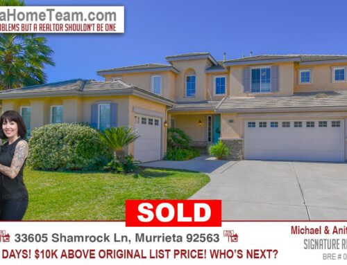 Sold | 33605 Shamrock Ln Murrieta CA 92563