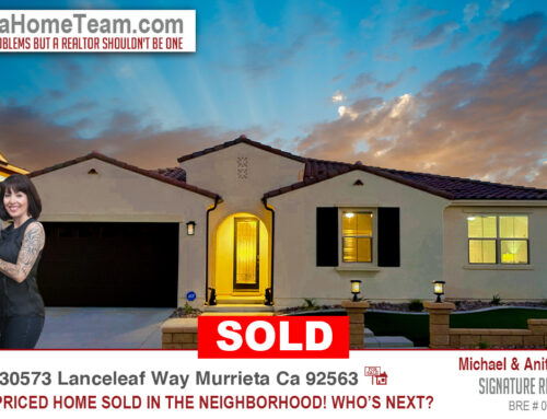 Sold | 30573 Lanceleaf Way Murrieta Ca 92563