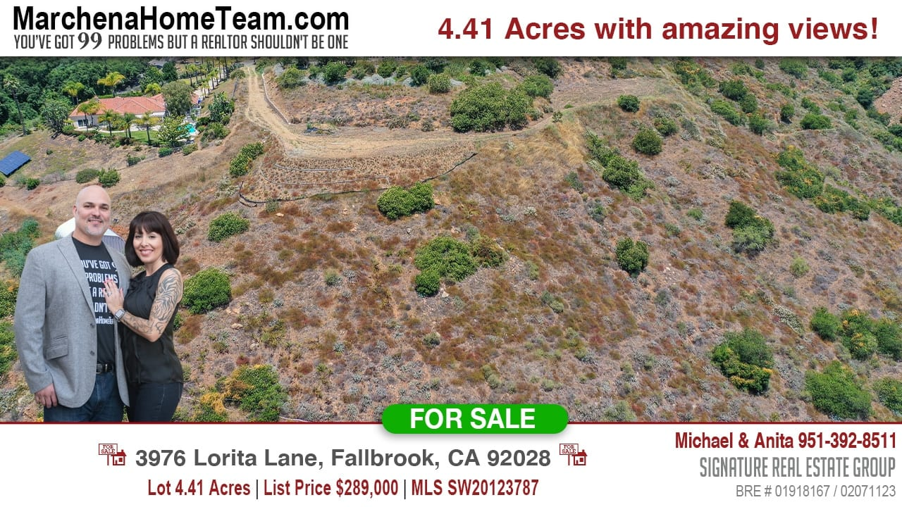 For Sale 3976 Lorita Lane, Fallbrook, CA 92028